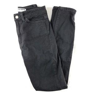 American Apparel Grey Denim Skinny Jeans Size 25
